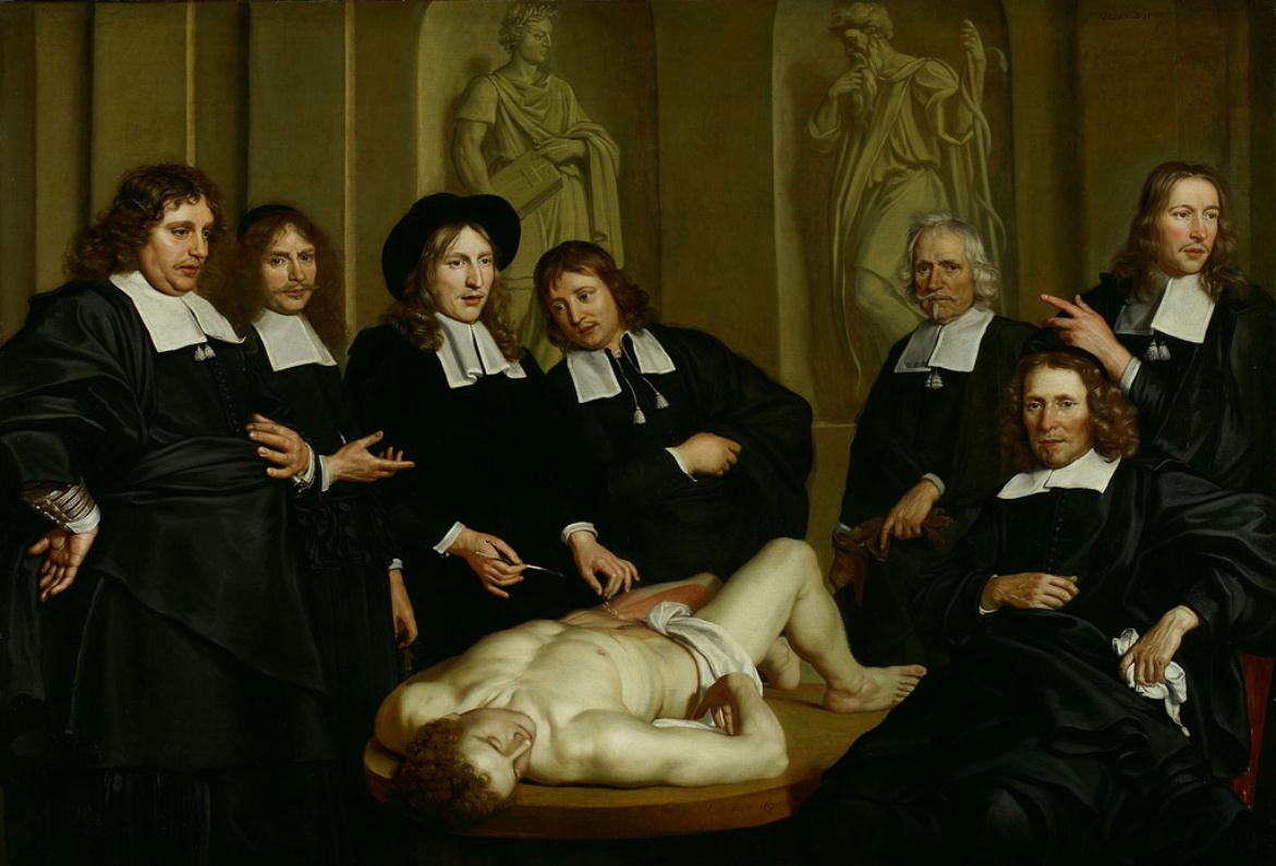 Anatomy Lesson paintings