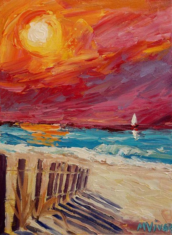 Acrylic Impressionist Paintings