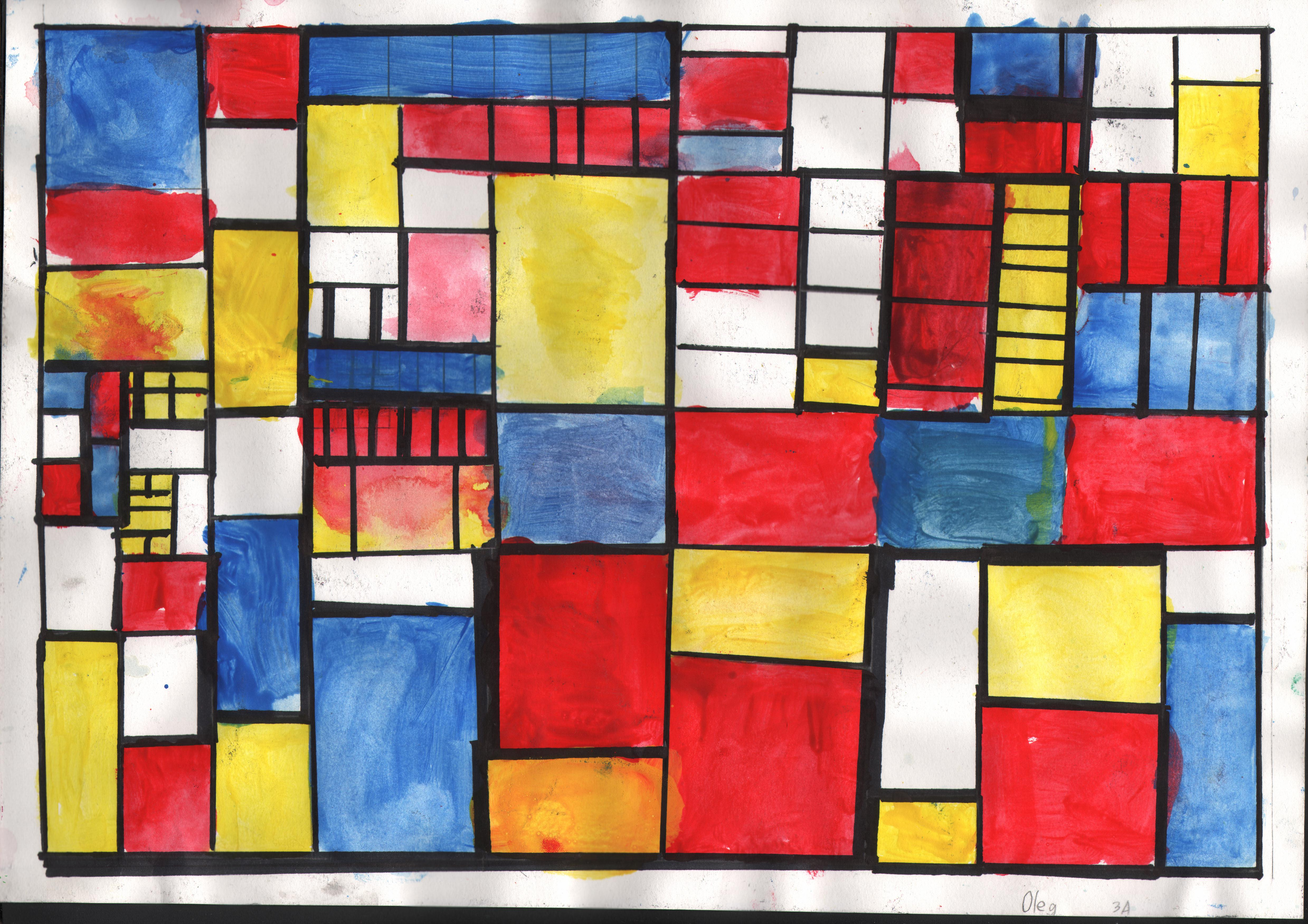 What Is Piet Mondrian Most Famous Painting