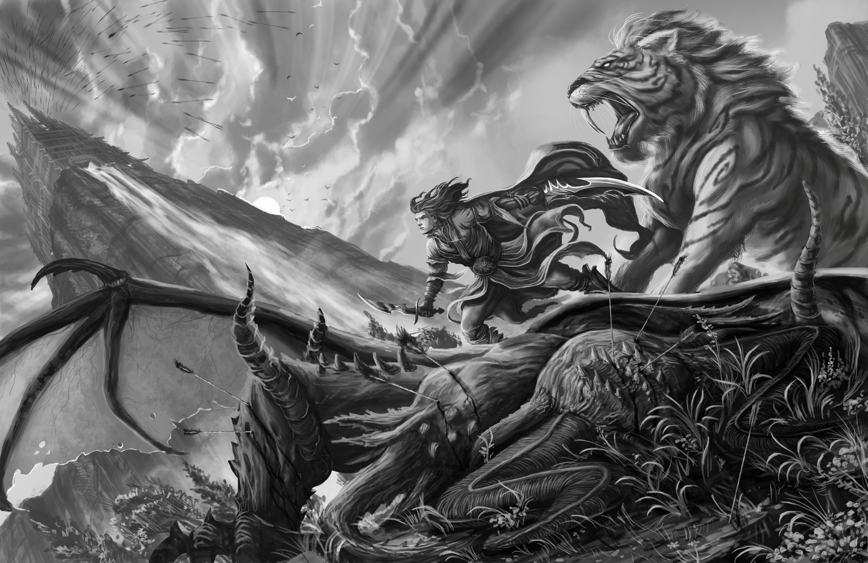 Grayscale Paintings