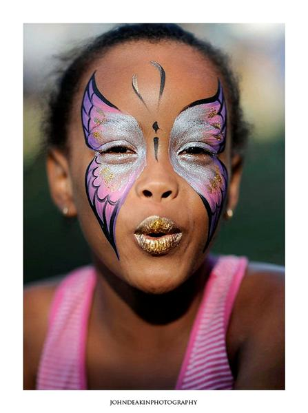 Elephant Face Paintings
