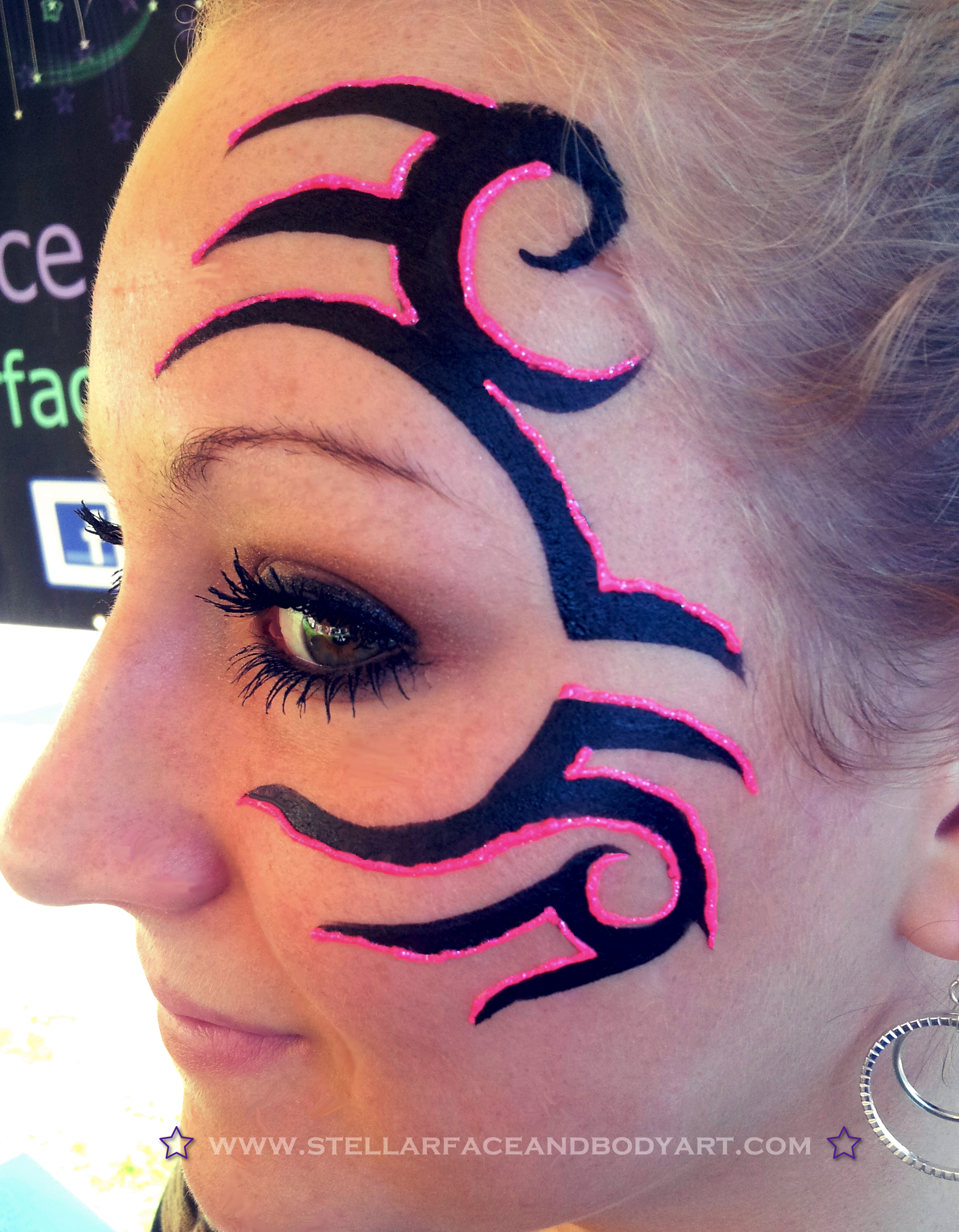 Tribal Face Paintings