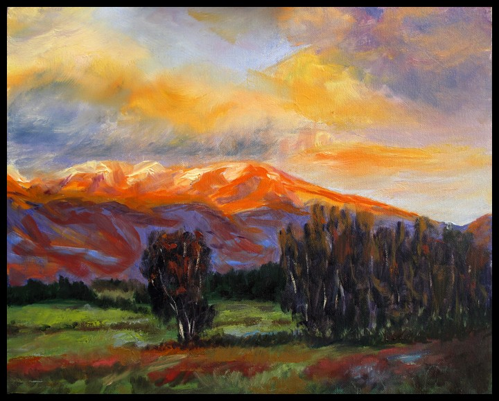 Beginners oil paintings for Landscape paintings for beginners