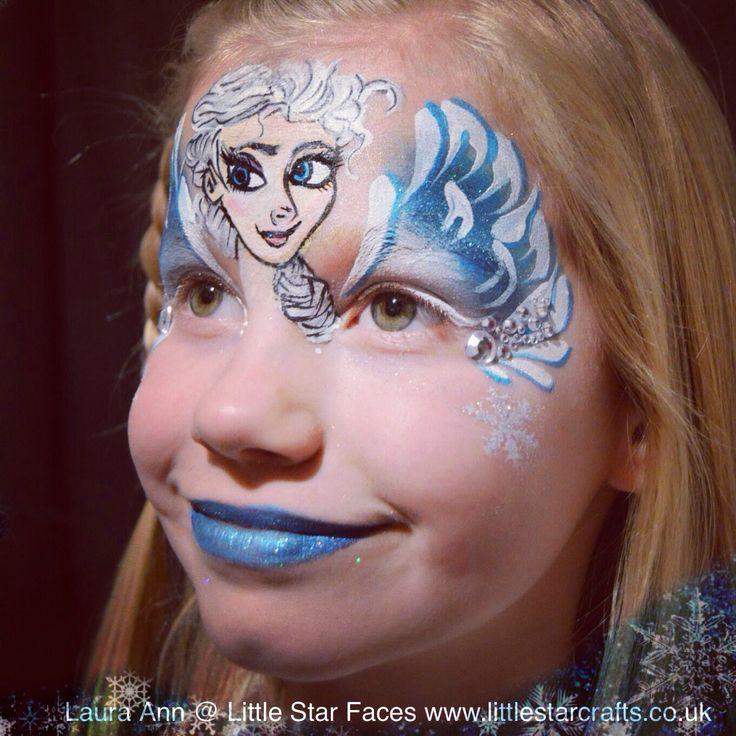 Disney Face Paintings