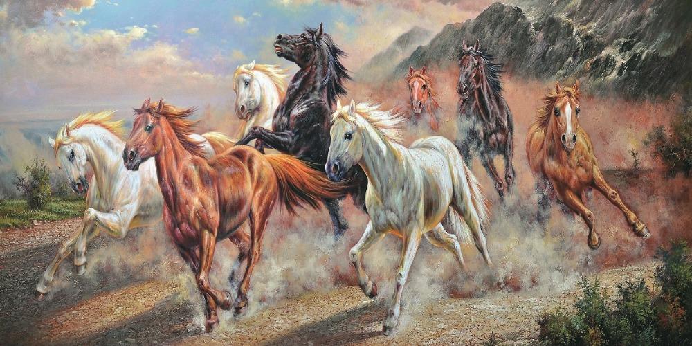Horses Running paintings