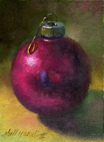 Christmas Ornament paintings