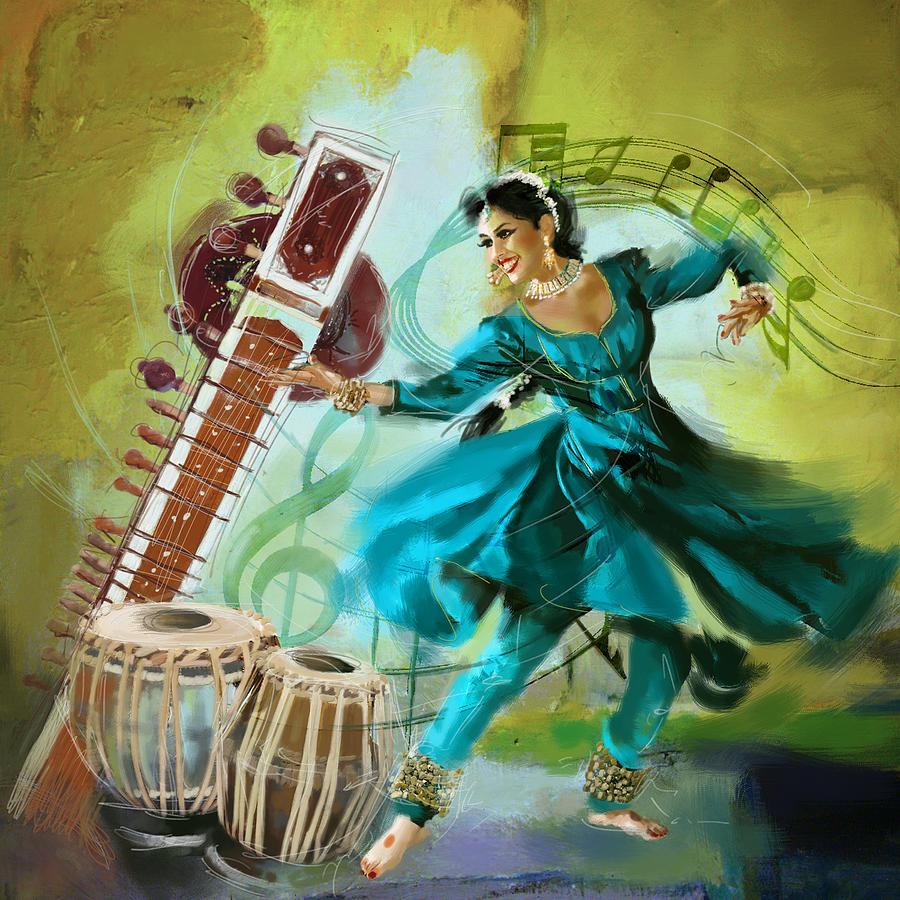 Kathak Dance Paintings