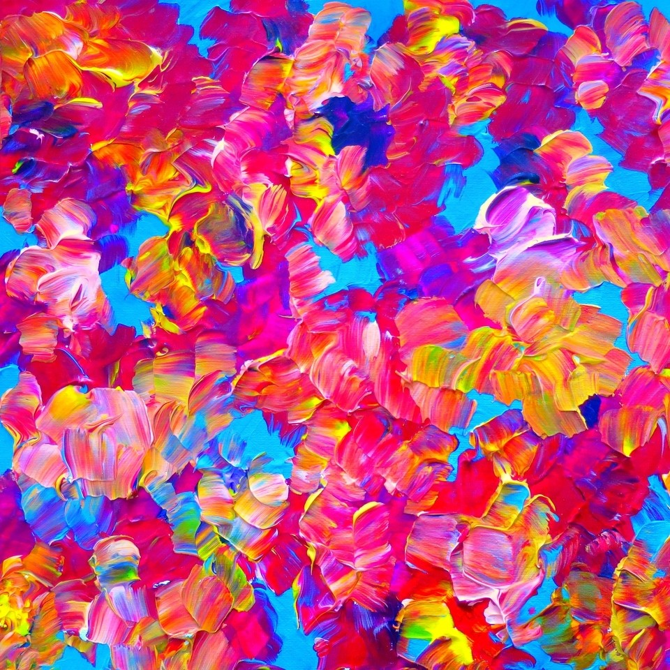 Bright Canvas Paintings