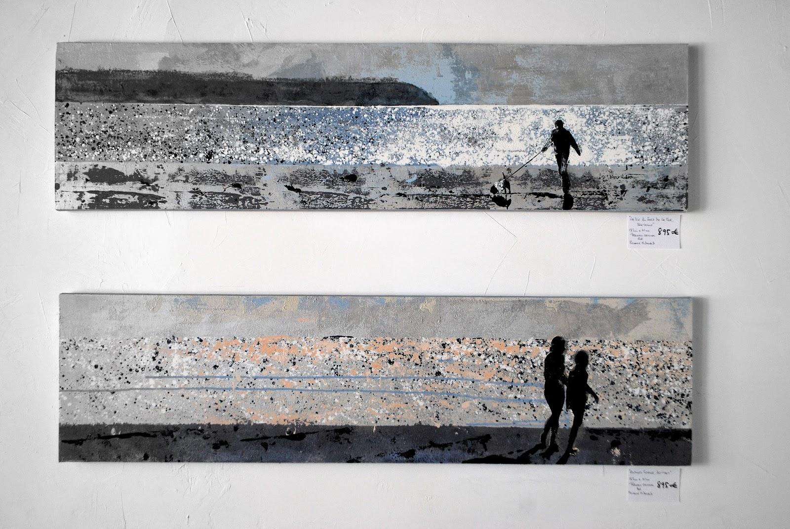 Long thin paintings