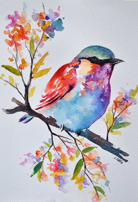 Bird Tree Paintings
