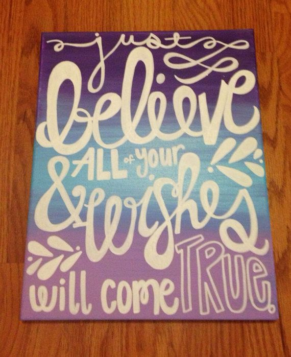Canvas Quote Paintings