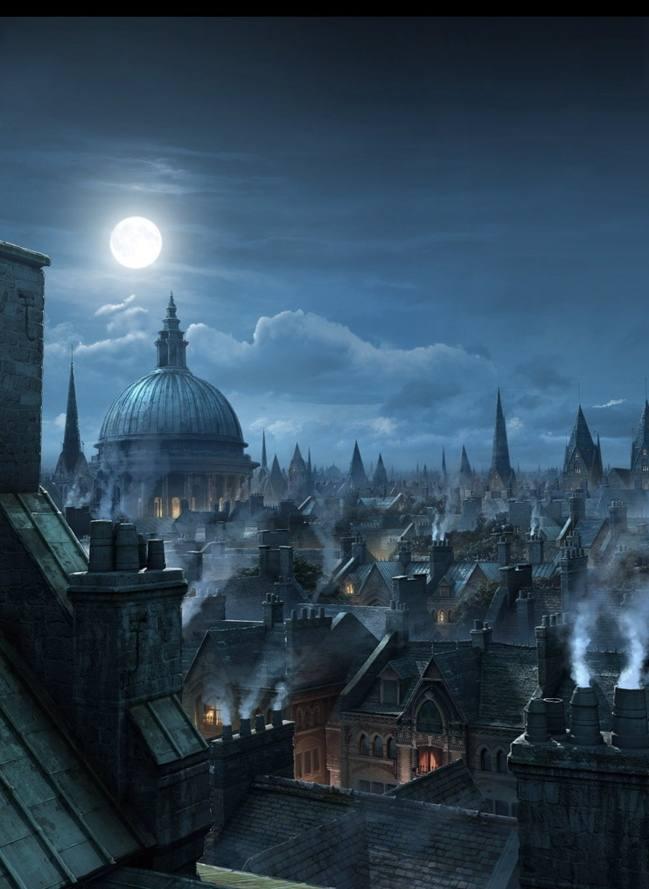 Victorian London Paintings