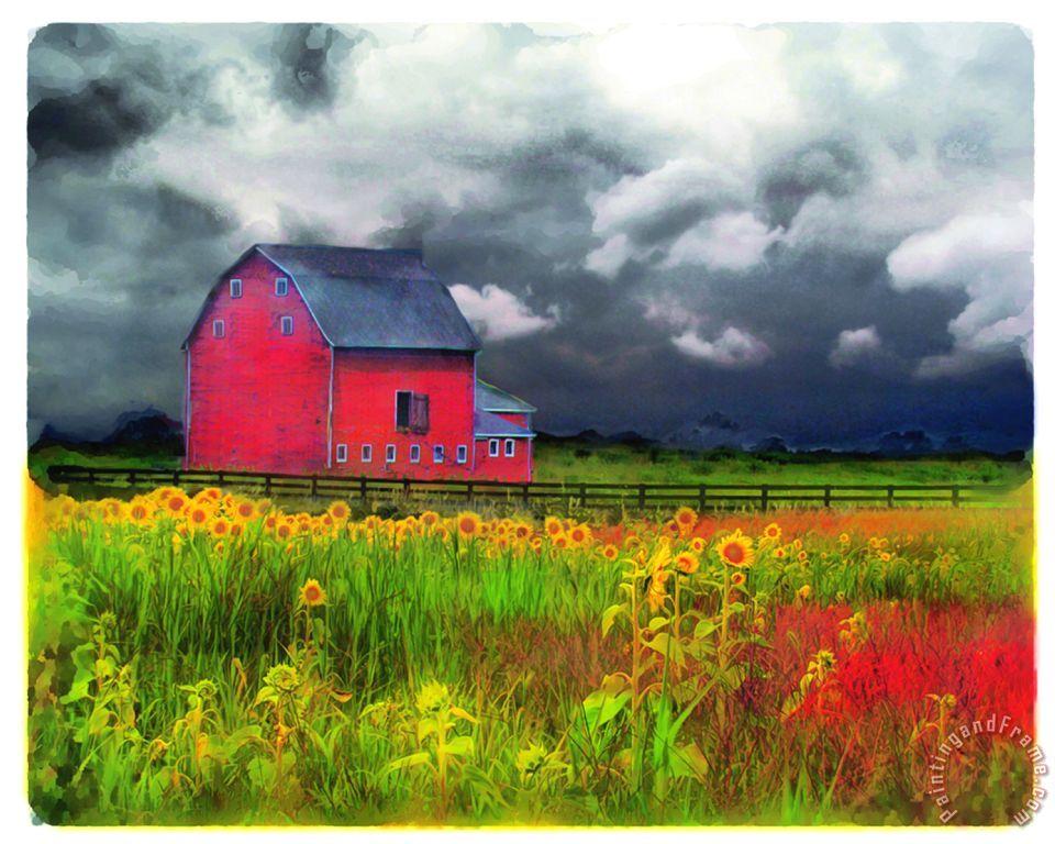 Abstract Barn paintings