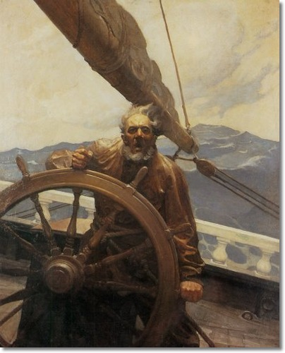 Boat Captain Paintings