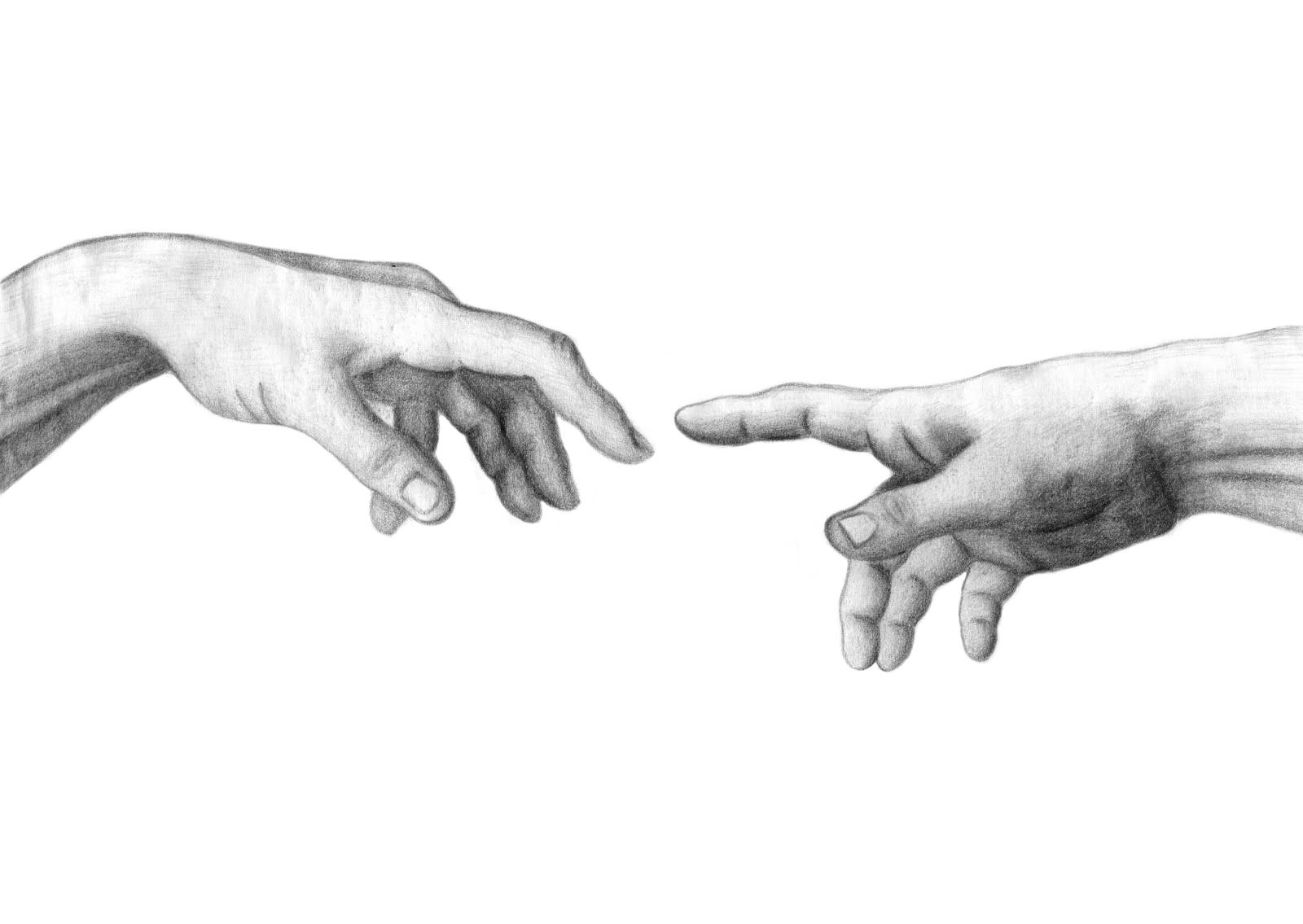 другой картинки рисунки руки микеланджело тост