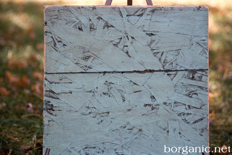 osb board paintings. Black Bedroom Furniture Sets. Home Design Ideas