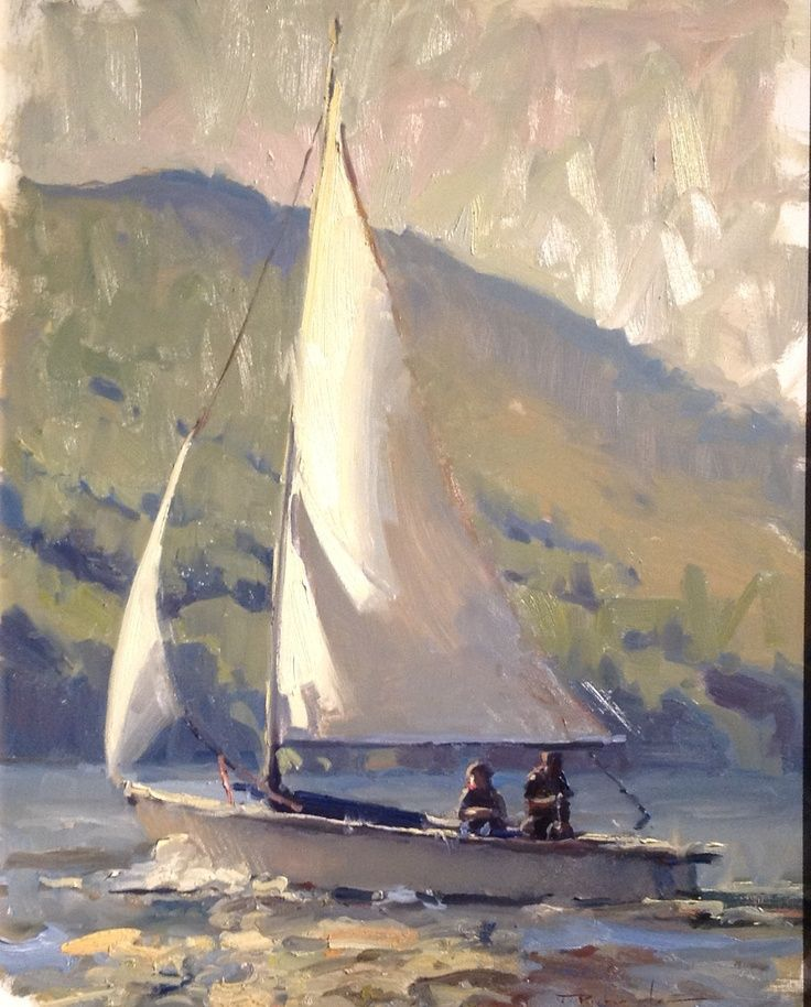 Famous Sailboat Paintings