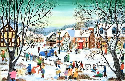 Famous christmas paintings christmas card paintings 2011 christmas cards painting christmas card m4hsunfo