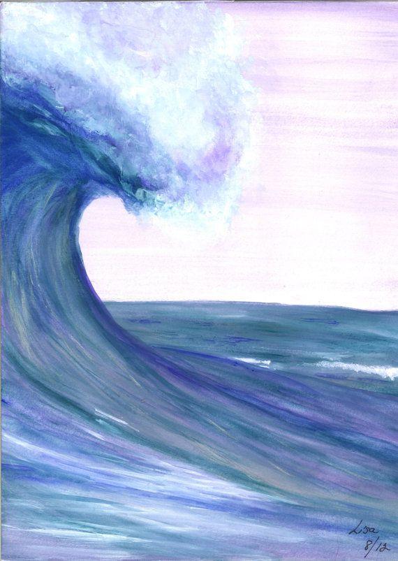 Waves Paintings