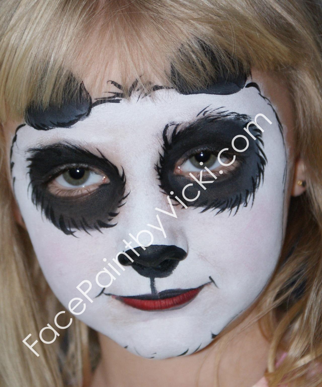 Panda Face paintings