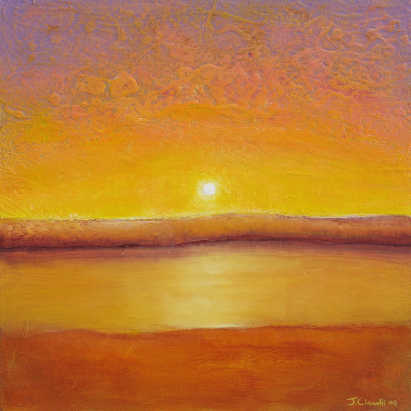 Abstract Sun Paintings