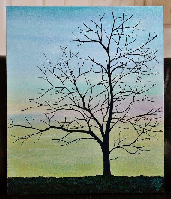 Simple Tree Paintings