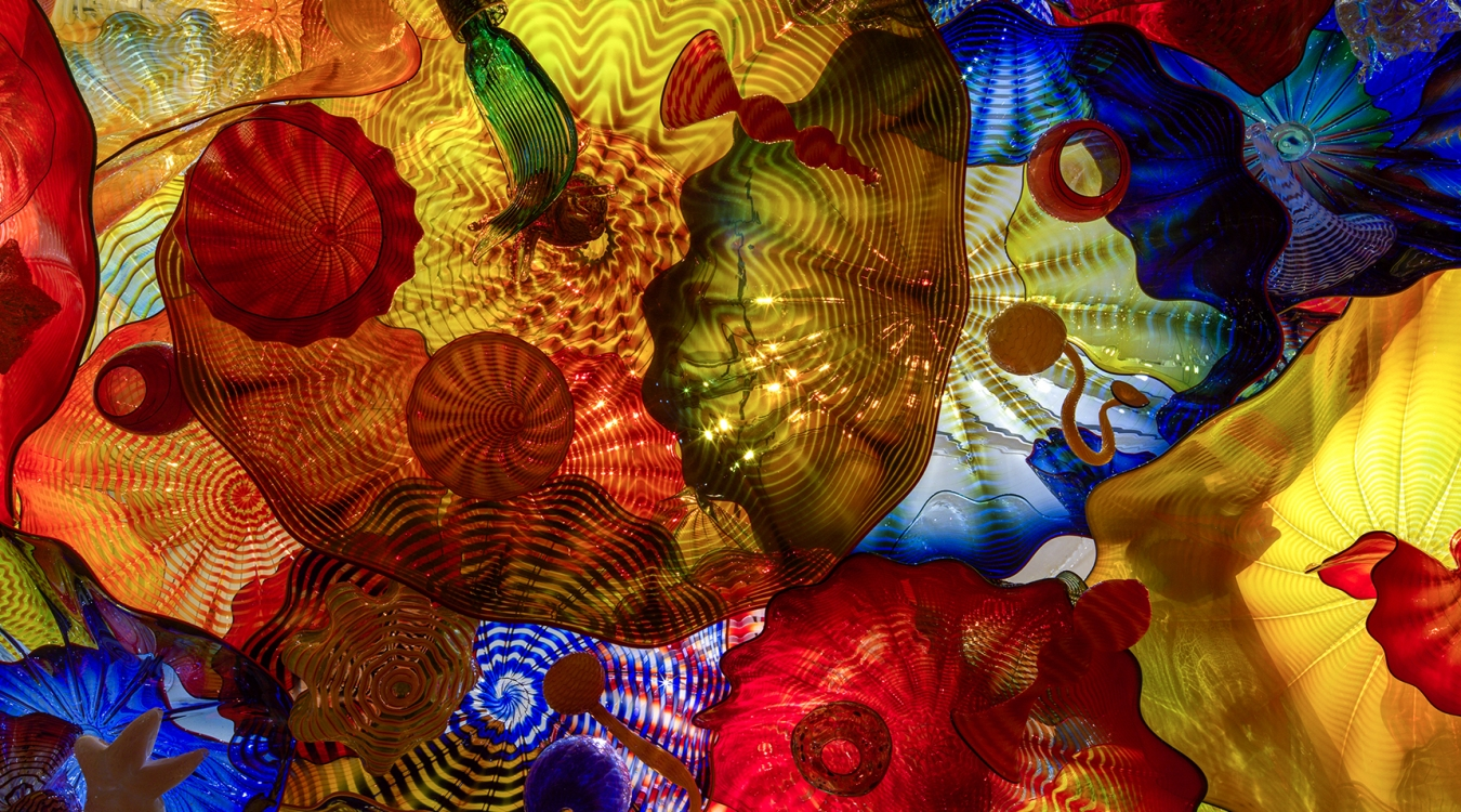 Art Calendar Seattle : Chihuly paintings