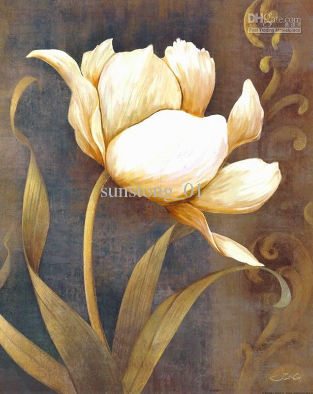 White Flower Painting Images - Flower Decoration Ideas