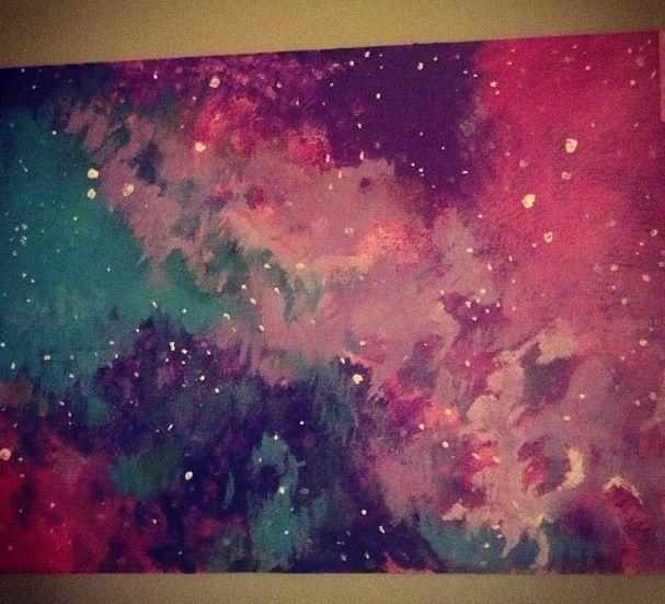 Diy Galaxy Paintings