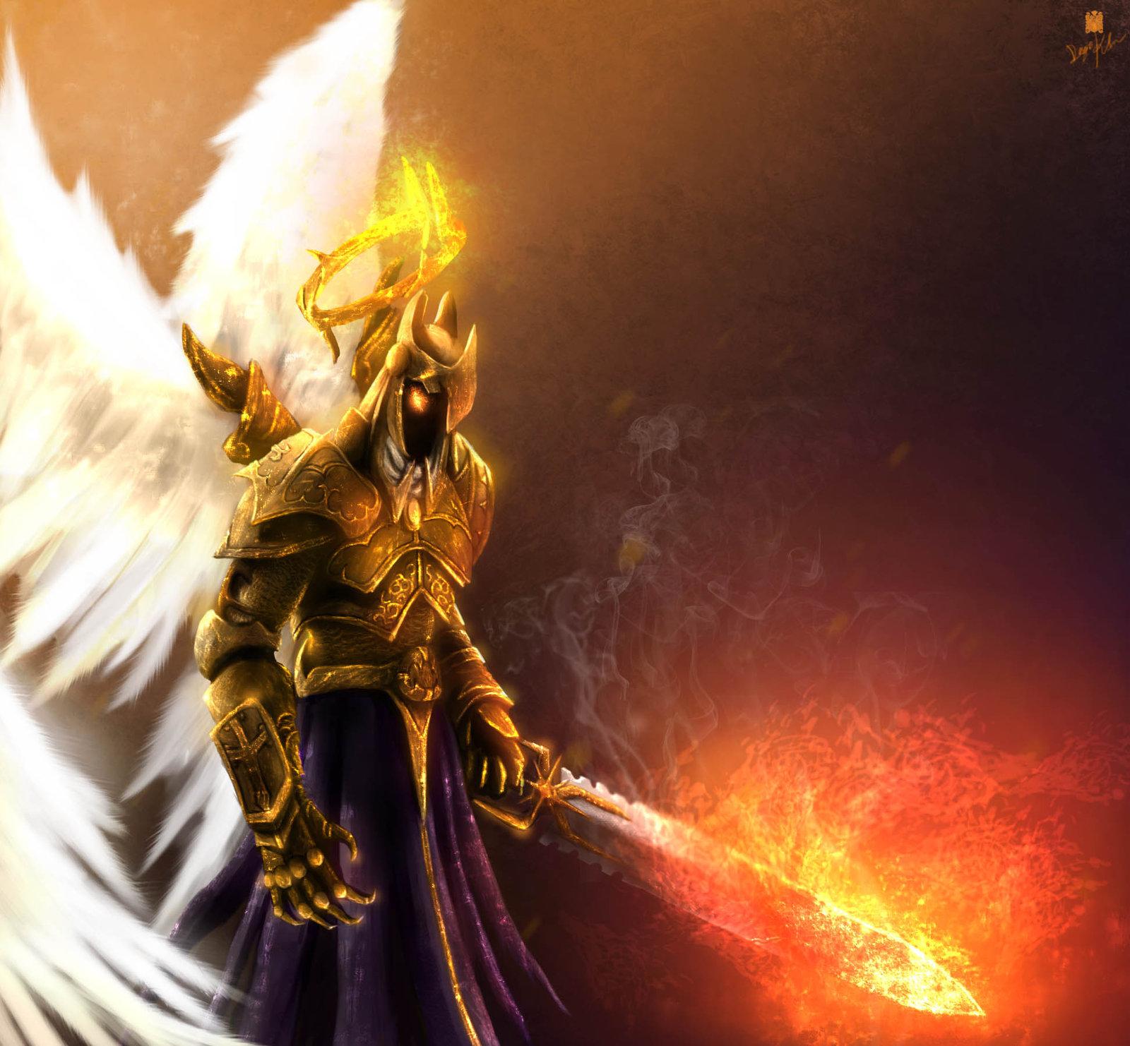 фото архангелов с крыльями книгу азбука