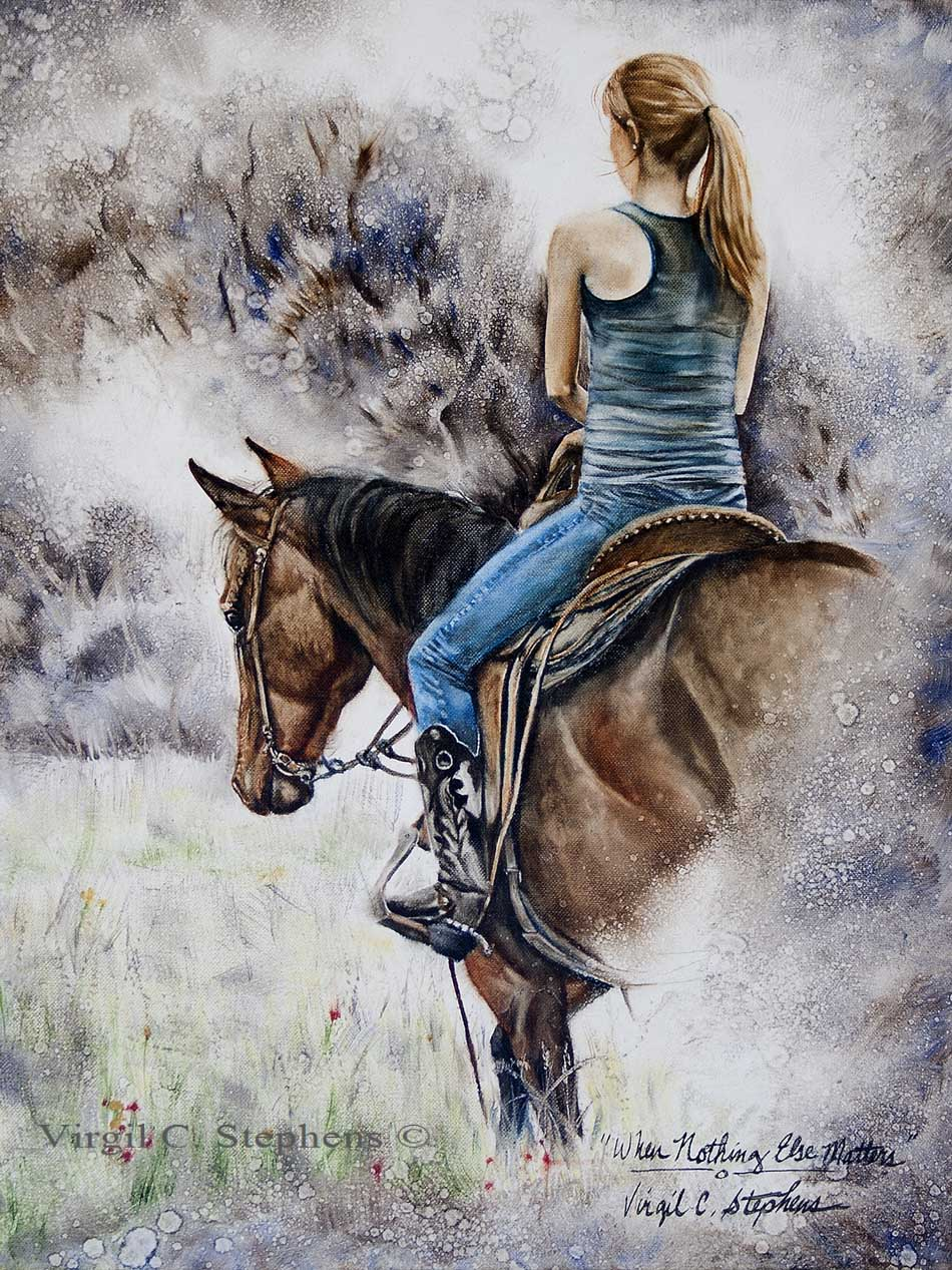 Horse Riding Paintings