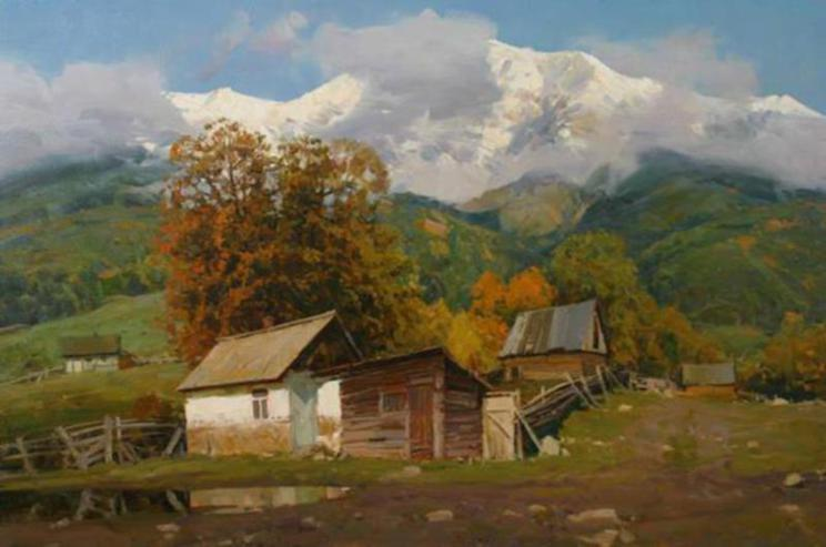 Russian Landscape Paintings