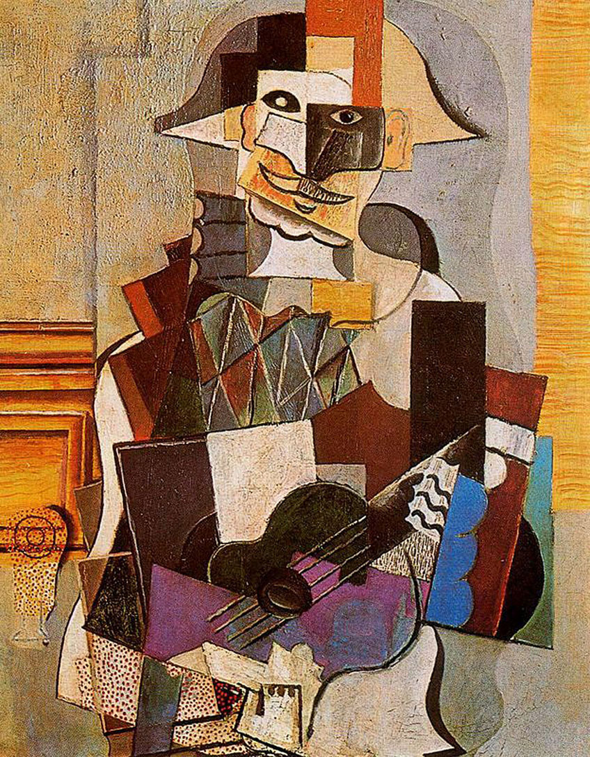 Picasso Harlequin Paintings
