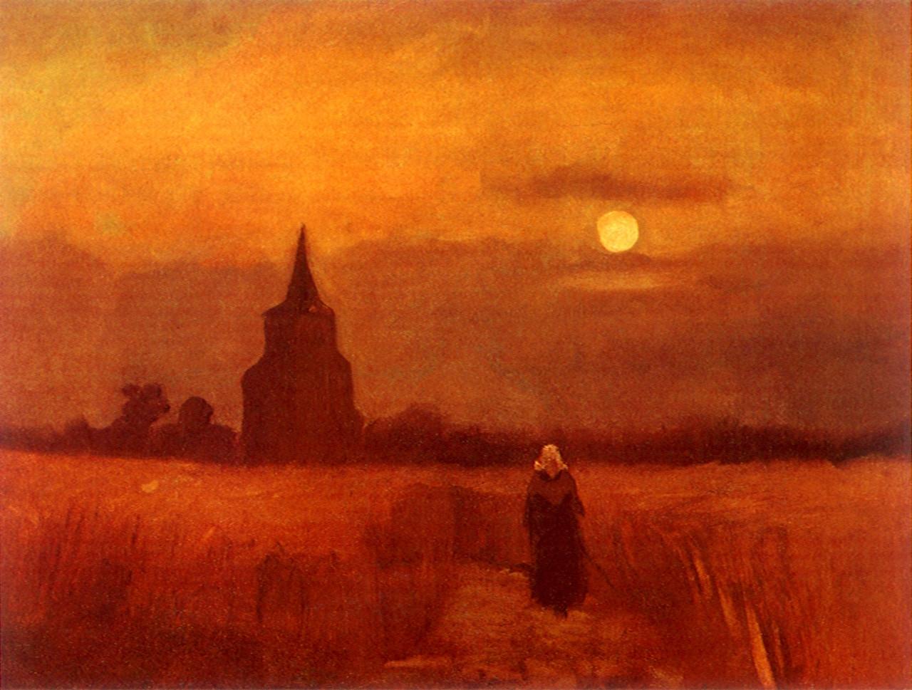 Monochrome Landscape Paintings