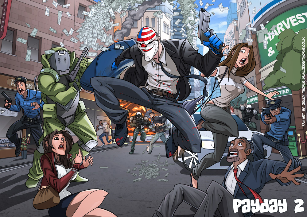 Payday 2 Art Gallery Paintings
