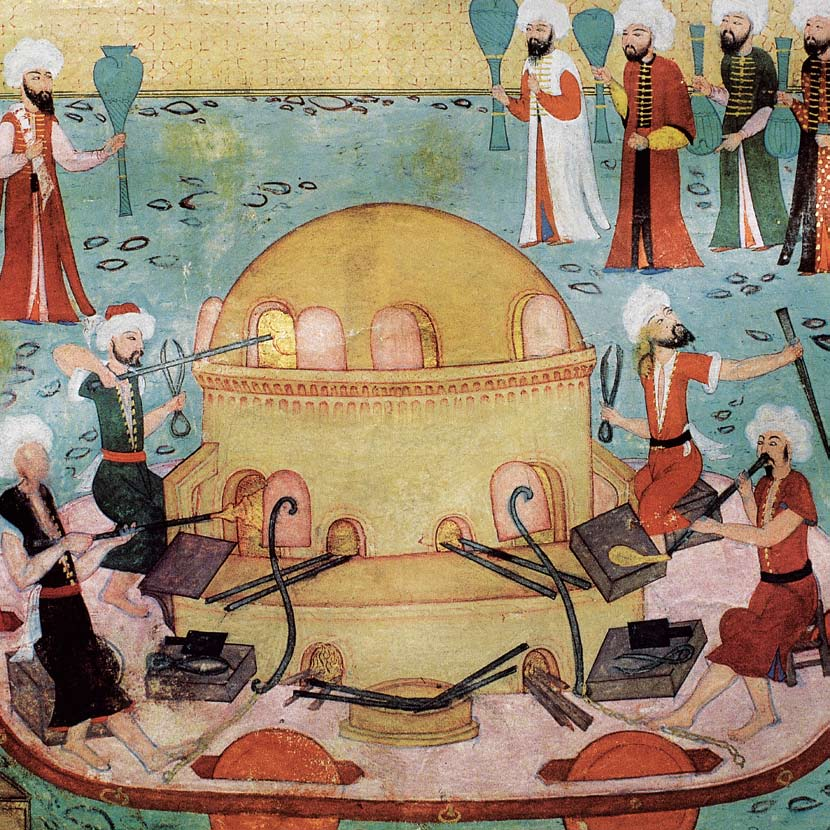 Ottoman Miniature paintings