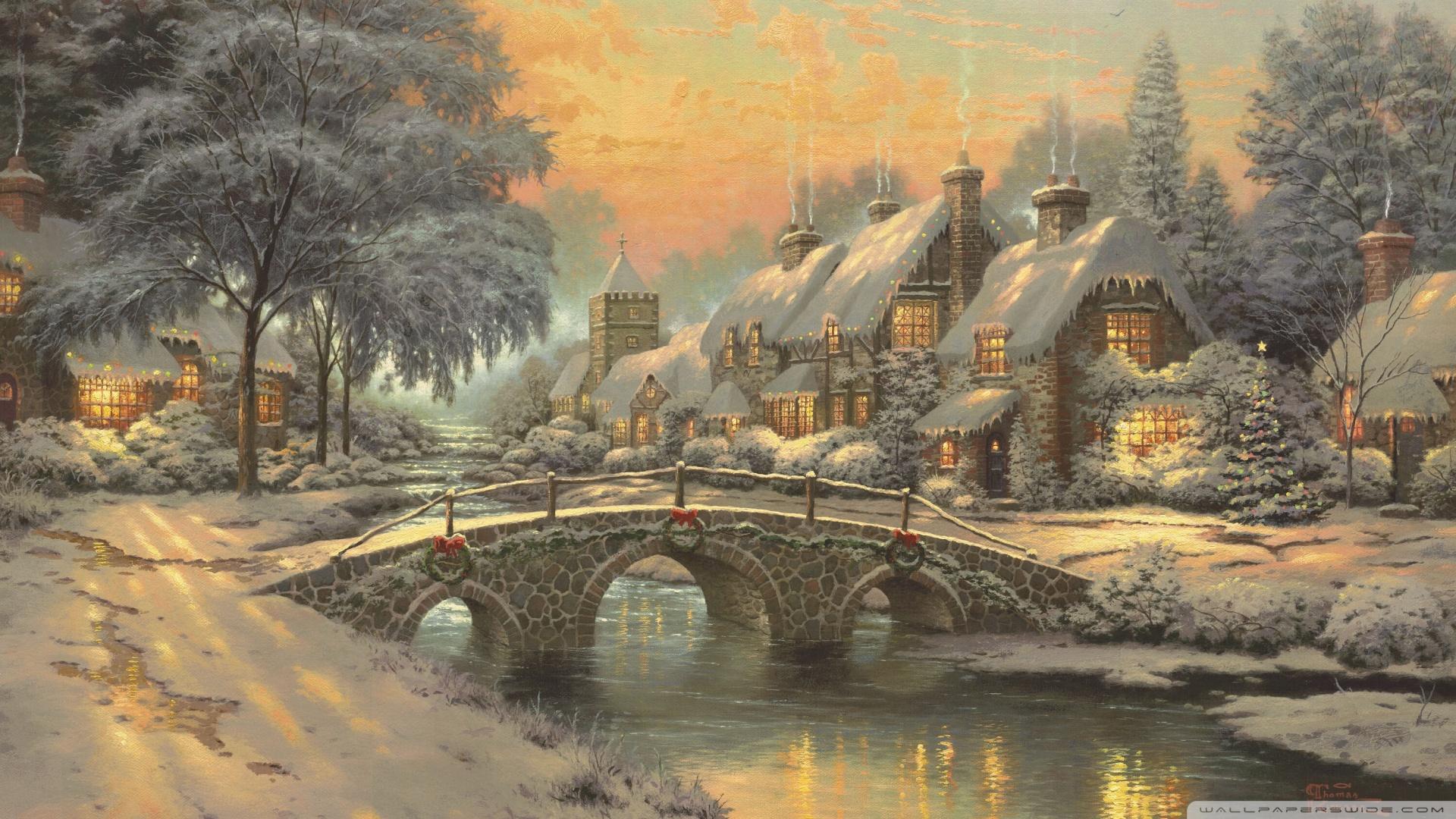 classic christmas paintings - Christmas Classic