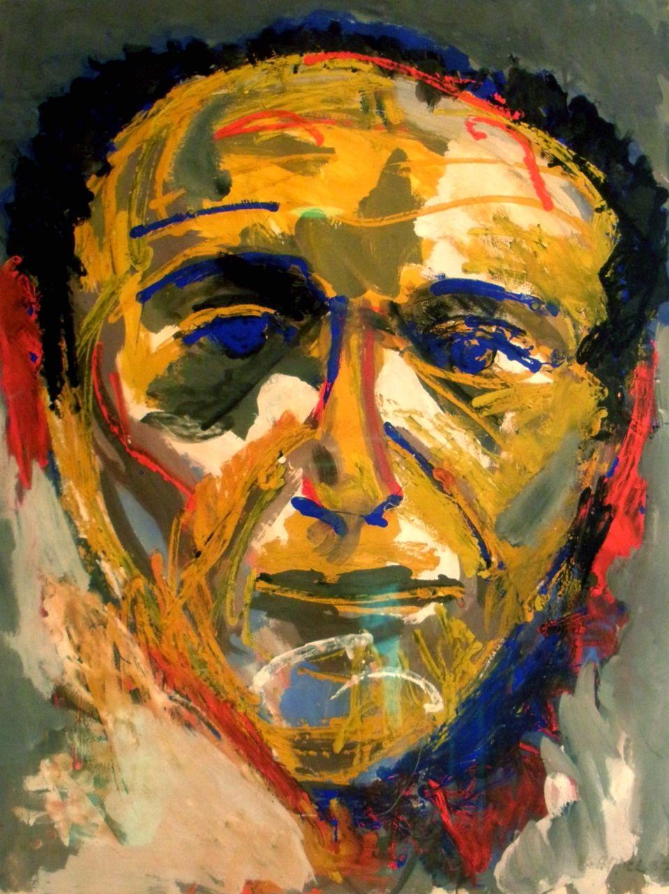 Uitzonderlijk Karel Appel paintings @AA87