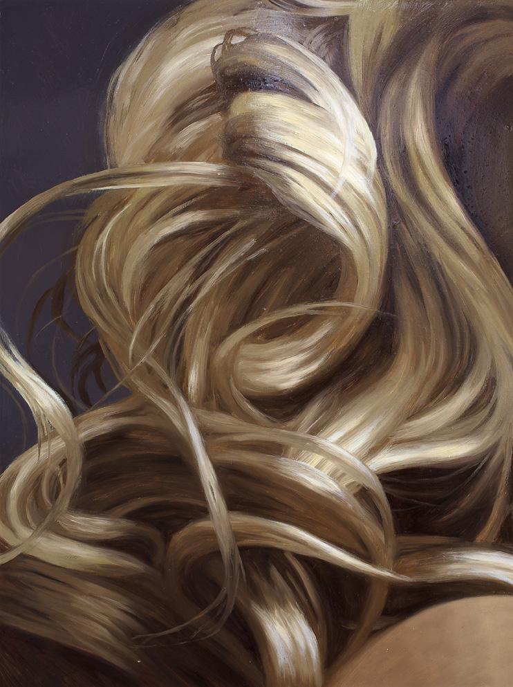 Blonde Hair Paintings
