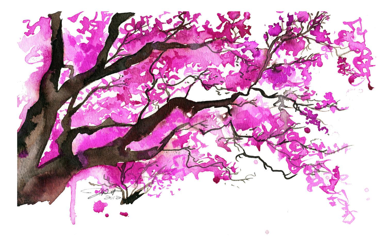 Blossom Tree Paintings