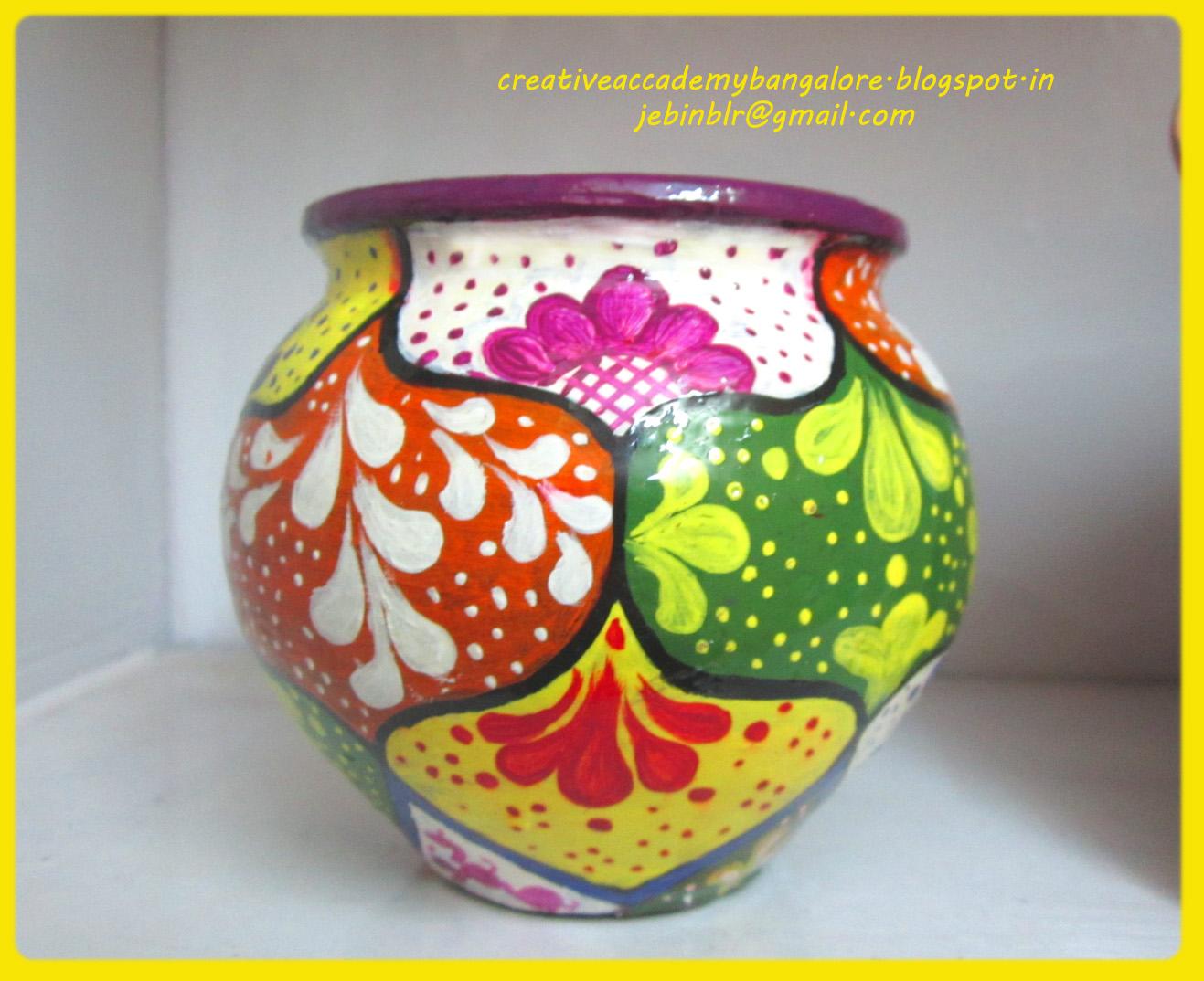 Pot Designs Paintings
