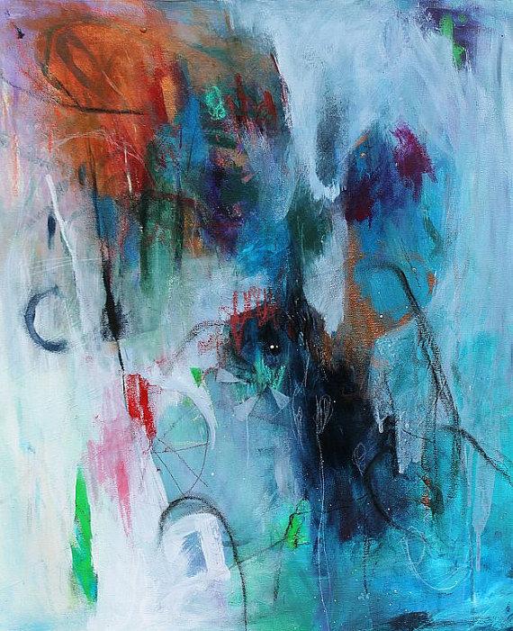 Sad Abstract Paintings