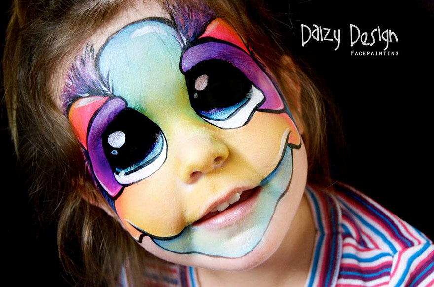 Cool Face Paintings