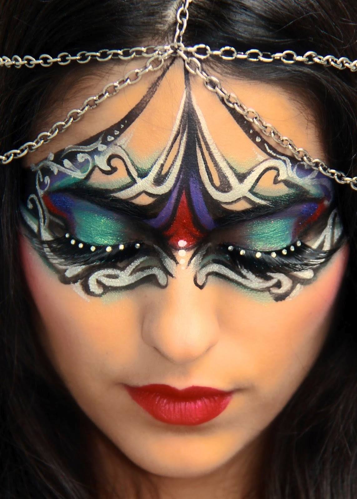 Professional Face Painting Makeup