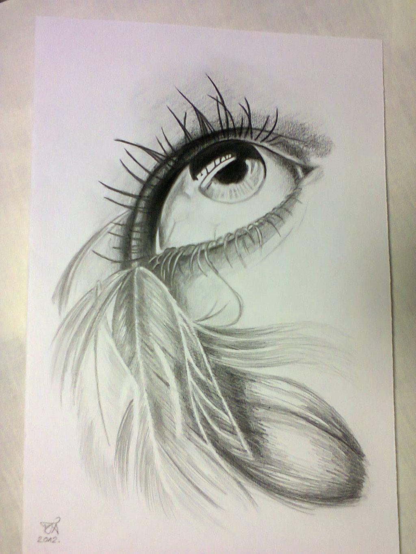 Pencil sketch paintings