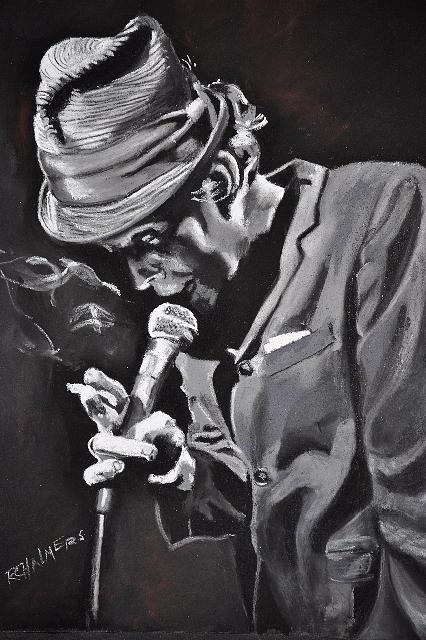 Jazz Singer Paintings