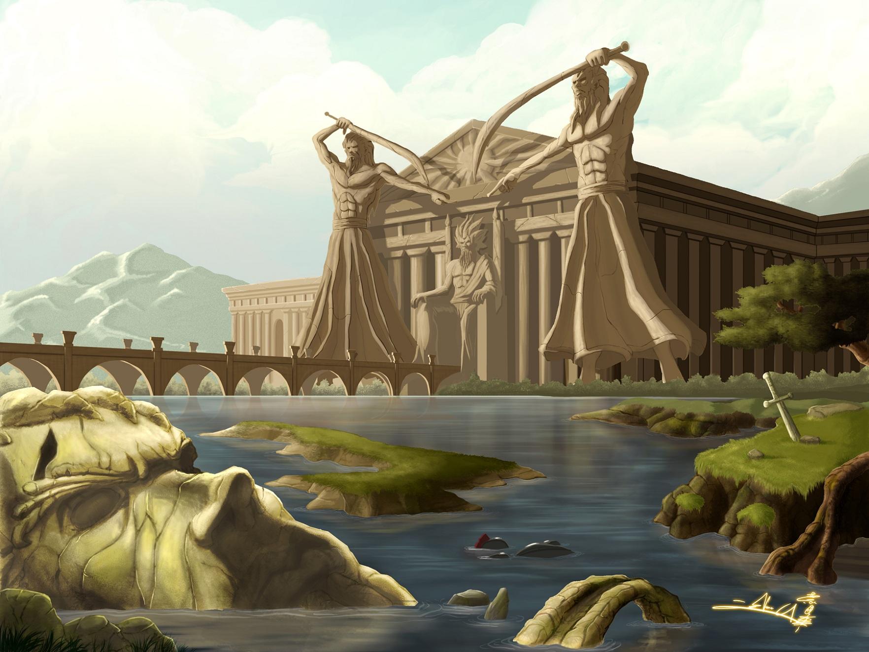 картинки фэнтези древняя греция видел латиноамериканок