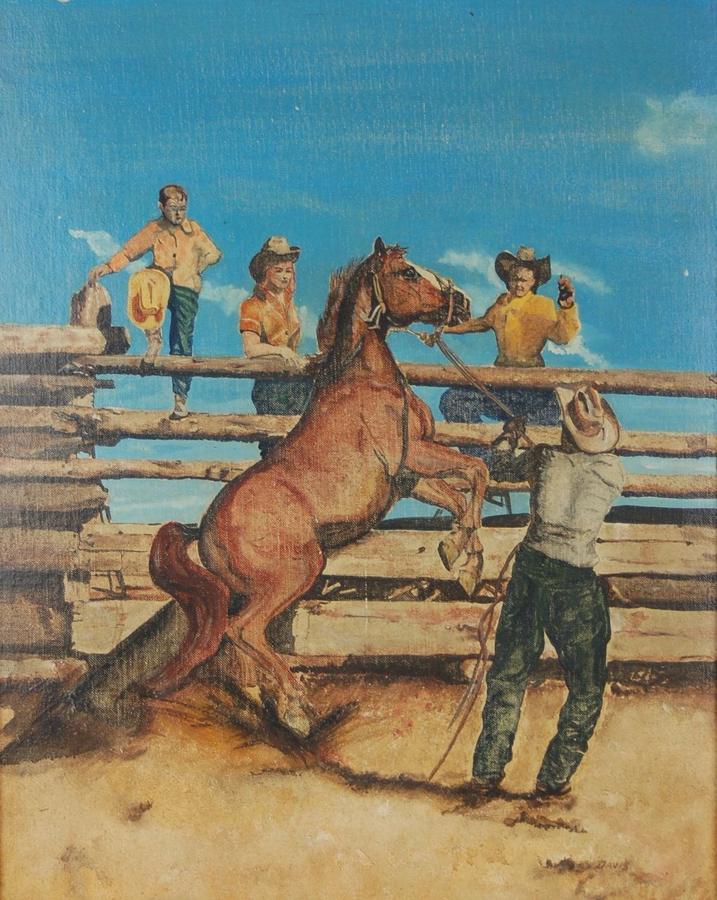Old Cowboy Paintings