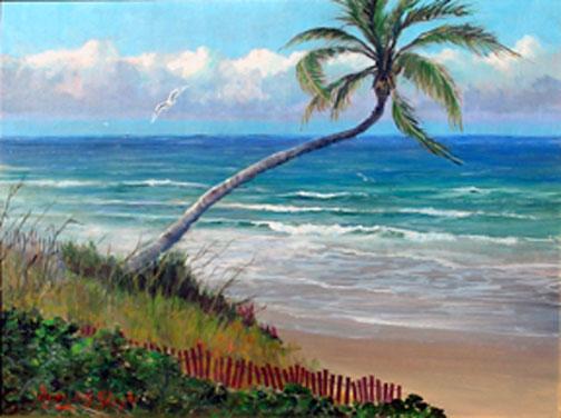 Beach Artists Paintings