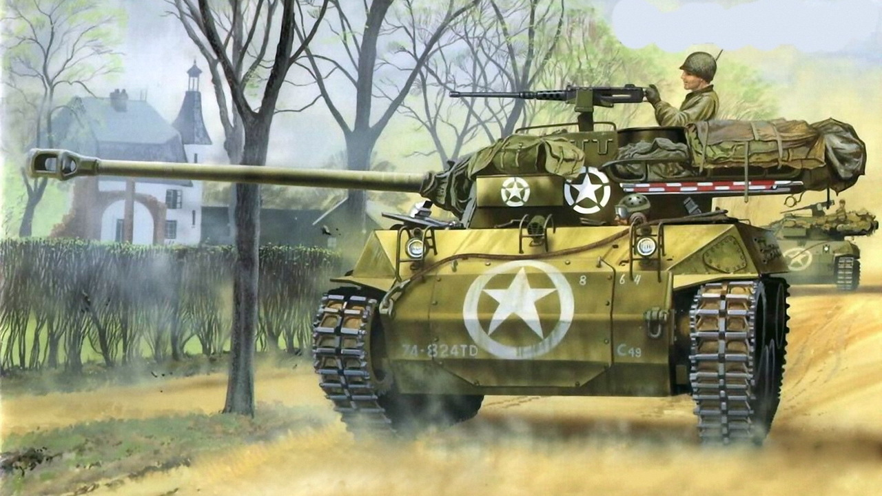 Us Tank paintings